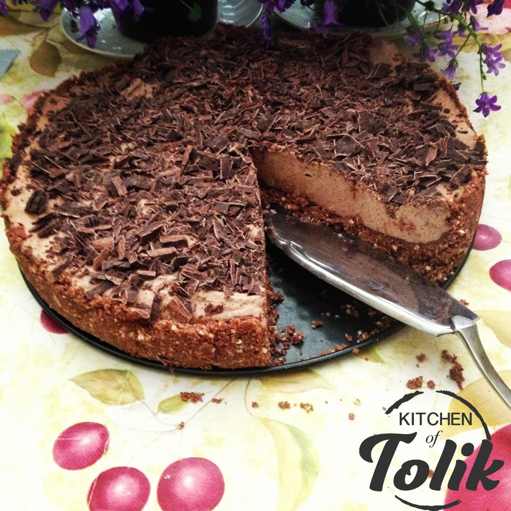 Торта с мока крем