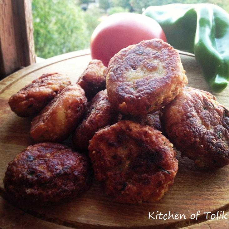 Вегетариански кюфтенца (Фалафели)