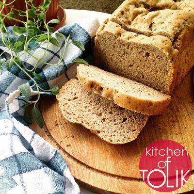 Пшеничено ръжен хляб с мак