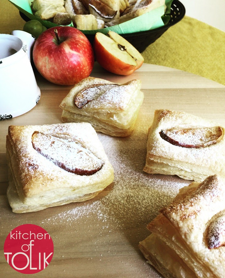 Мини тарти с ябълки