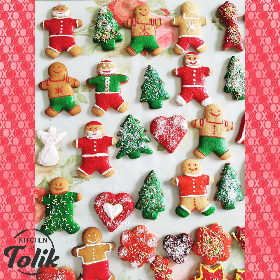 Коледните сладки на Кари