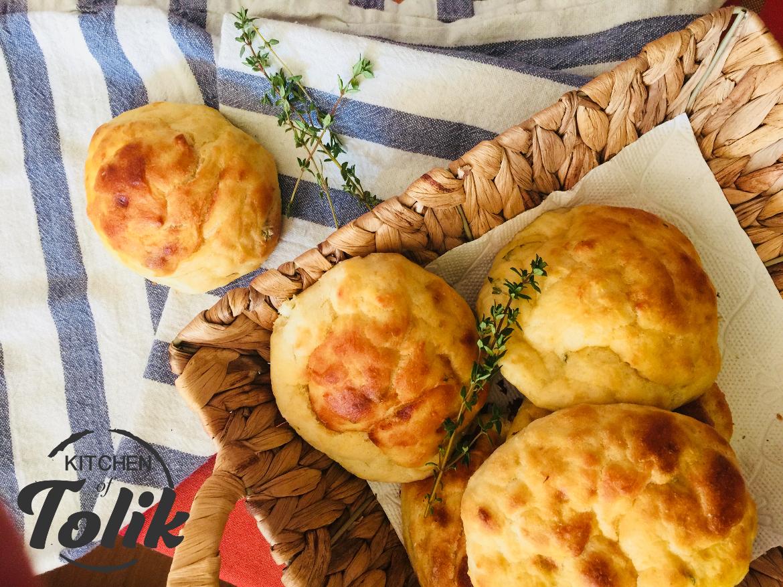 Картофени хлебчета с мащерка